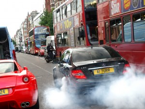 Burnout On the streets of london
