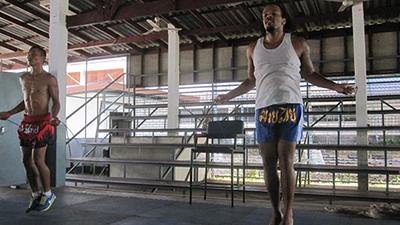 Muay Thai skipping